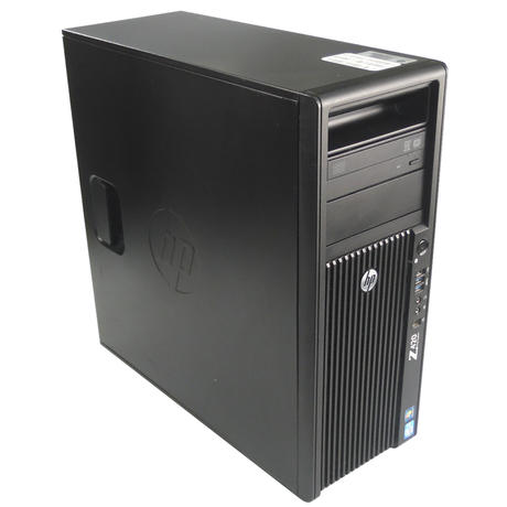 HP Z420 Workstation Intel Xeon E5-1603 @2.80GHz 8GB PC-3 No HDD No OS Thumbnail 1